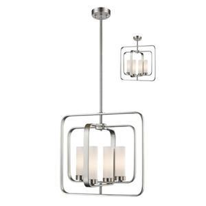 Z-Lite Aideen 4-Light Pendant Light - Nickel