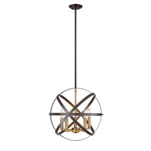 Z-Lite Cavallo 5-Light Pendant Light - Multicoloured