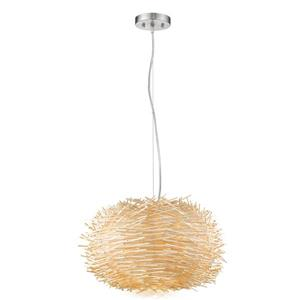 Z-Lite Sora 5-Light Pendant Light - Nickel