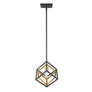 Z-Lite Euclid 1-Light Mini Pendant Light - Multicoloured