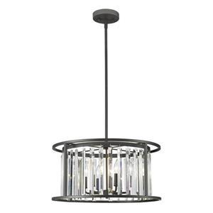 Z-Lite Monarch 6-Light Pendant Light - Bronze