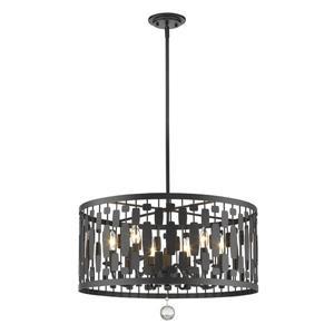 Z-Lite Almet 6-Light Pendant Light - Bronze