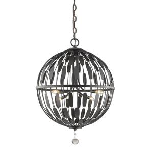 Z-Lite Almet 6-Light Pendant Light - Bronze