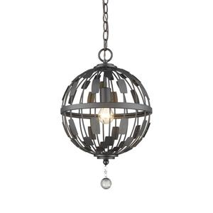 Z-Lite Almet 1-Light Pendant Light - Bronze