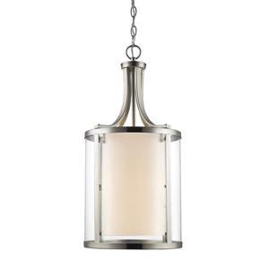 Z-Lite Willow 4-Light Pendant Light - Nickel