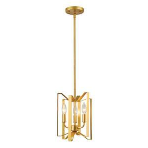 Z-Lite Marsala 3-Light Mini Pendant Light - Gold