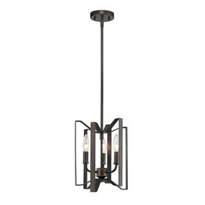 Z-Lite Marsala 3-Light Mini Pendant Light - Bronze