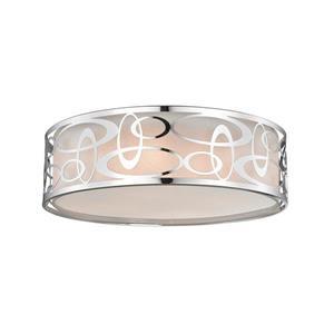 Z-Lite Opal 4-Light Pendant Light - Chrome