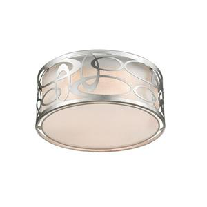 Z-Lite Opal 3-Light Pendant Light - Nickel