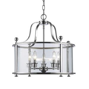 Z-Lite Wyndham 5-Light Pendant Light - Bronze