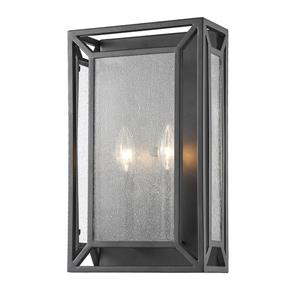 Z-Lite Braum 2-Light Wall Sconce - Bronze