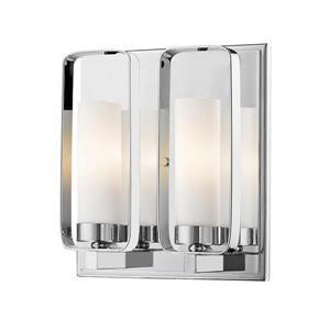 Z-Lite Aideen 2-Light Wall Sconce - Chrome