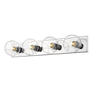 Z-Lite Marquee 4-Light Wall Sconce - Chrome