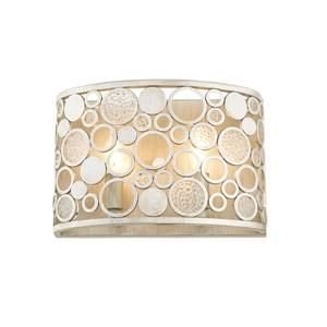 Z-Lite Ariell 2-Light Wall Sconce - Antique Silver