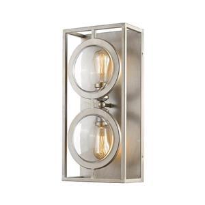 Z-Lite Port 2-Light Wall Sconce - Antique Silver