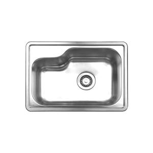 Whitehaus Collection Drop-in Sink - Stainless steel