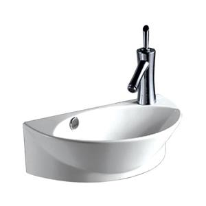 Whitehaus Collection Small Wall Mount Bathroom Sink - White