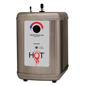 Whitehaus Collection Instant Hot Water Tank - 5/8 Gallons -Silver