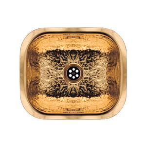 Whitehaus Collection Undermount Entertainment/Prep Sink - Brass