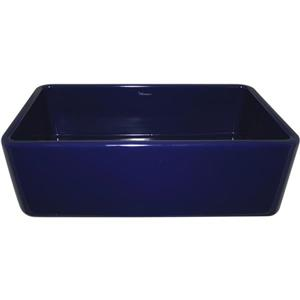 Whitehaus Collection Front Apron Fireclay Sink - 36-in - Blue