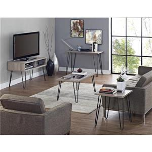 "Ameriwood Home Owen Retro TV Stand for TVs up to 42"" -  Gray Oak"