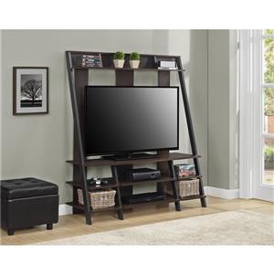 "Ameriwood Home Dunnington TV Cabinet - For TVs up to 48"" - Espresso"