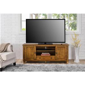 "Ameriwood Home San Antonio TV Cabinet for TVs up to 60"" - Tuscany Oak"