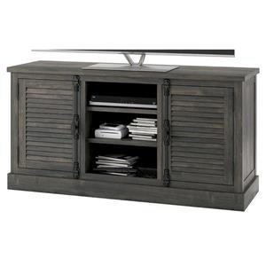 "Ameriwood Home Sienna Park Media Cabinet for TVs up to 65"" - Weathered Oak"