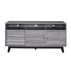 """Ameriwood Home Vaughn TV Cabinet for TVs up to 60"""" - Gray Oak"""