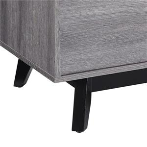 "Ameriwood Home Vaughn TV Cabinet for TVs up to 60"" - Gray Oak"