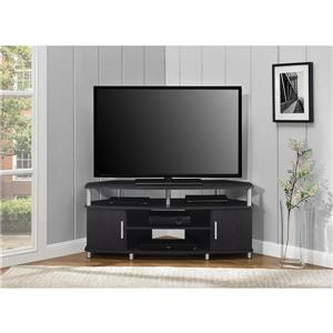 "Ameriwood Home Carson Corner TV Cabinet - For TVs up to 50"" - Espresso"