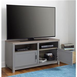 """Ameriwood Home Carver Media Cabinet for TVs up to 60"""" - Gray"""