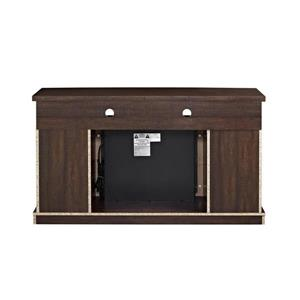 """Ameriwood Home Barrow Creek Fireplace with TV Cabinet for TVs up to 60"""""""