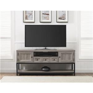 "Ameriwood Home Barrett Multipurpose TV Cabinet for TVs up to 60"" - Gray Oak"