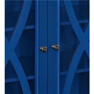 Ameriwood Home Ellington Accent Cabinet - 2 Doors - Blue