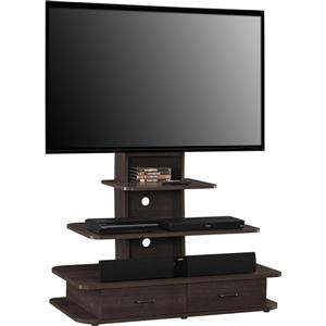 "Ameriwood Home Galaxy TV Stand - Mount and Drawers for TVs up to 70"" -Brown"