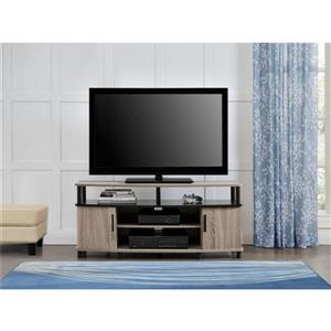 """Ameriwood Home Carson TV Stand for TVs up to 50"""" - 2 Doors - Gray Oak"""