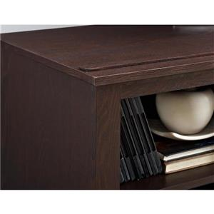 """Ameriwood Home Edgewood TV Console with Fireplace for TVs up to 60"""" -Cherry"""