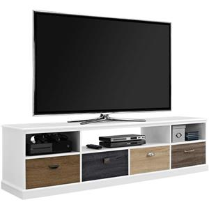 Ameriwood Home Mercer TV Cabinet - Multicolored Fronts - TVs up to 65""