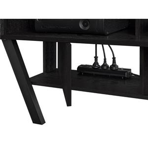 "Ameriwood Home Layton Wall Mounted TV Stand for TVs up to 47"" - Black Oak"