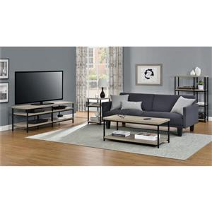 "Ameriwood Home Elmwood TV Stand for TVs up to 60"" - Open Storage - Gray Oak"