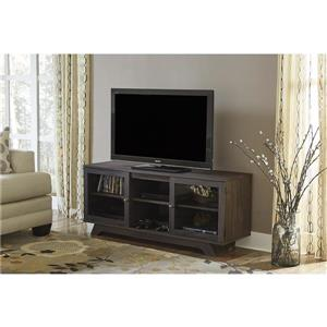 """Ameriwood Home Englewood TV Stand for TVs up to 55"""" - Weathered Oak"""