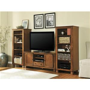"""Ameriwood Home Summit TV Stand - for TVs up to 55"""" - 2 Doors - Medium Brown"""