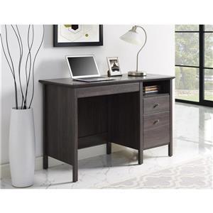 Ameriwood Home Adler Lift-Top Desk - Weathered Oak