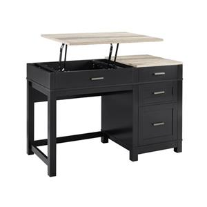 Ameriwood Home Carver Lift Top Desk - Black