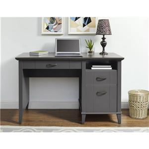 Ameriwood Home Quinn Lift-Top Desk - Graphite Gray