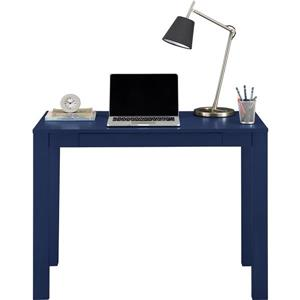 Ameriwood Home Parsons Desk with Drawer - Blue