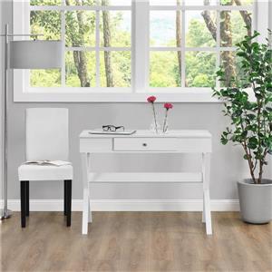 Ameriwood Home Paxton Campaign Desk - White