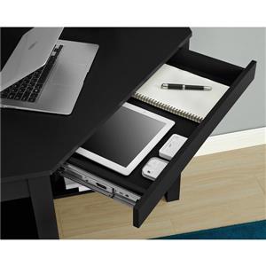 Ameriwood Home Parsons Corner Desk - Black