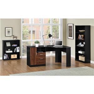 Ameriwood Home Avalon Corner Desk - Black